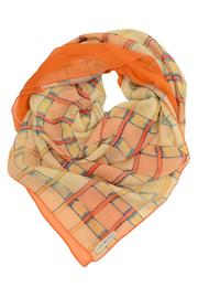 Clara Kaesdorf Silk Scarf Check - Product Mini Image