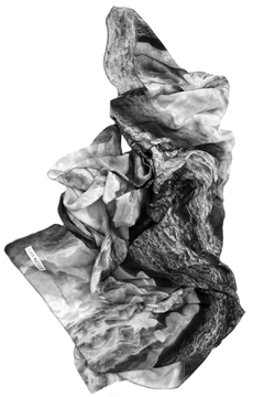 Clara Kaesdorf Silk Scarf Ice-Crystal - Alternate List Image