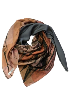 Shoptiques Product: Silk Scarf Pink/blue