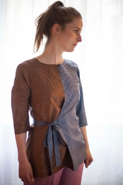 Clara Kaesdorf Silk Wrap Blouse - Product Mini Image