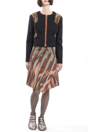 Clara Kaesdorf Printed Leaves Skirt - Product Mini Image