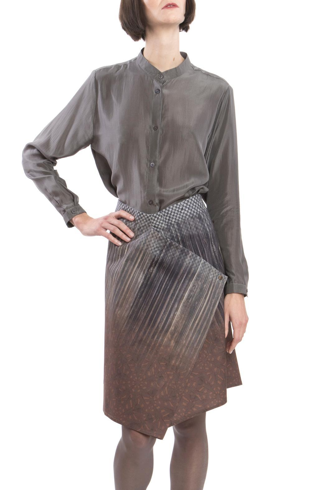Clara Kaesdorf Skirt Modifiable Gradient Brown - Main Image