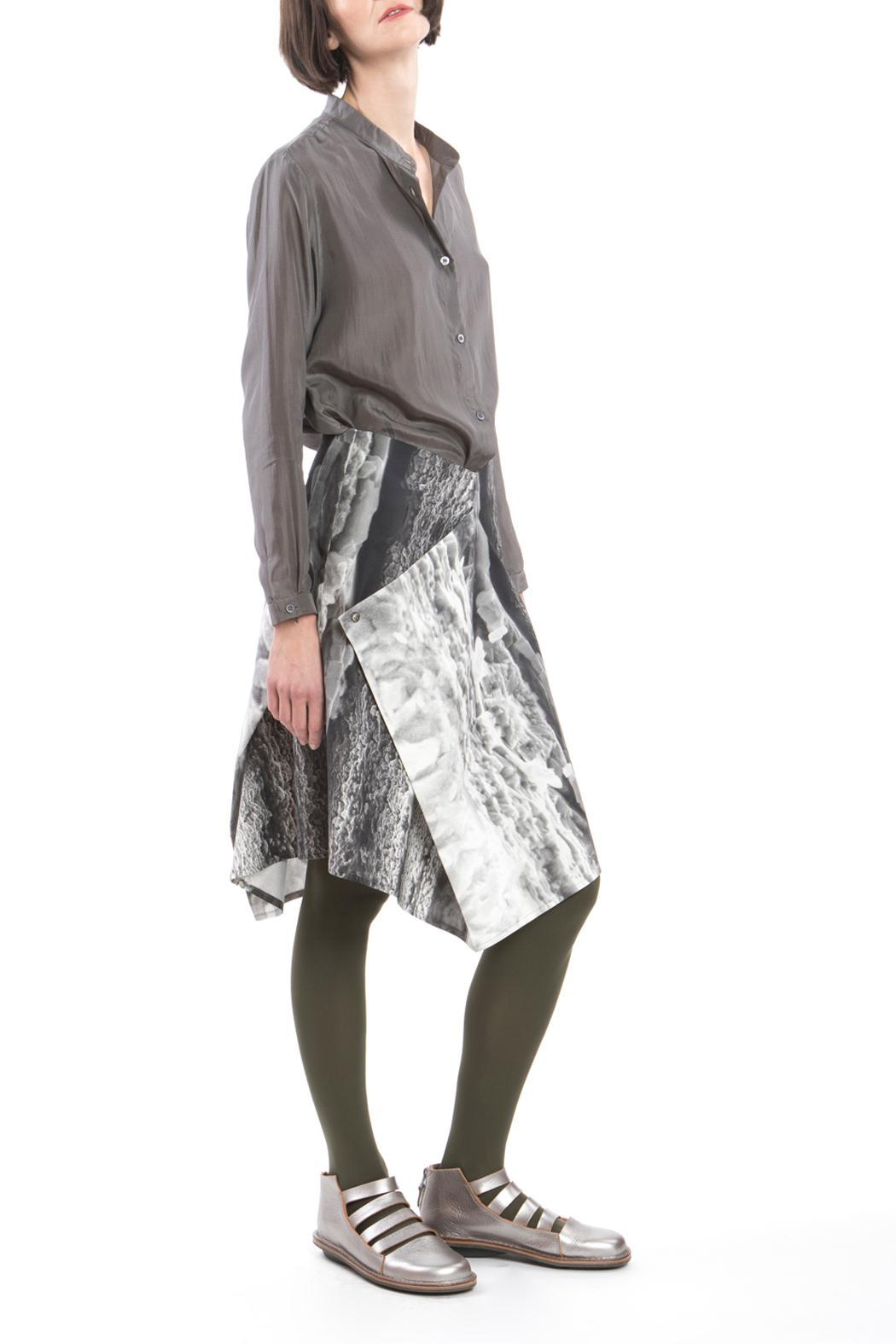 Clara Kaesdorf Skirt Modifiable Ice Crystal - Back Cropped Image