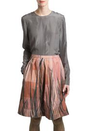 Clara Kaesdorf Skirt Wide Feather - Front cropped