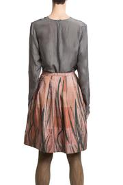 Clara Kaesdorf Skirt Wide Feather - Back cropped