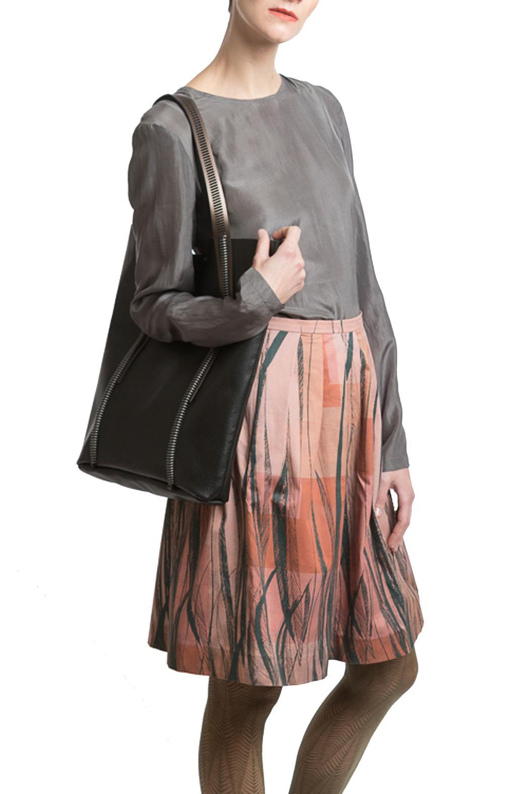 Clara Kaesdorf Skirt Wide Feather - Side Cropped Image