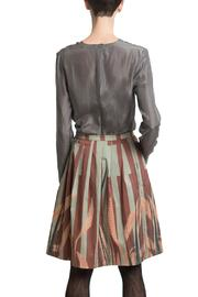 Clara Kaesdorf Skirt Wide Leaves - Back cropped