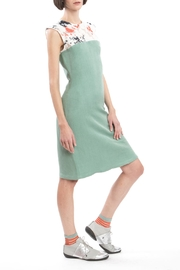 Clara Kaesdorf Slim Dress Green - Product Mini Image