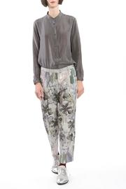 Clara Kaesdorf Trousers Flower Grey - Product Mini Image