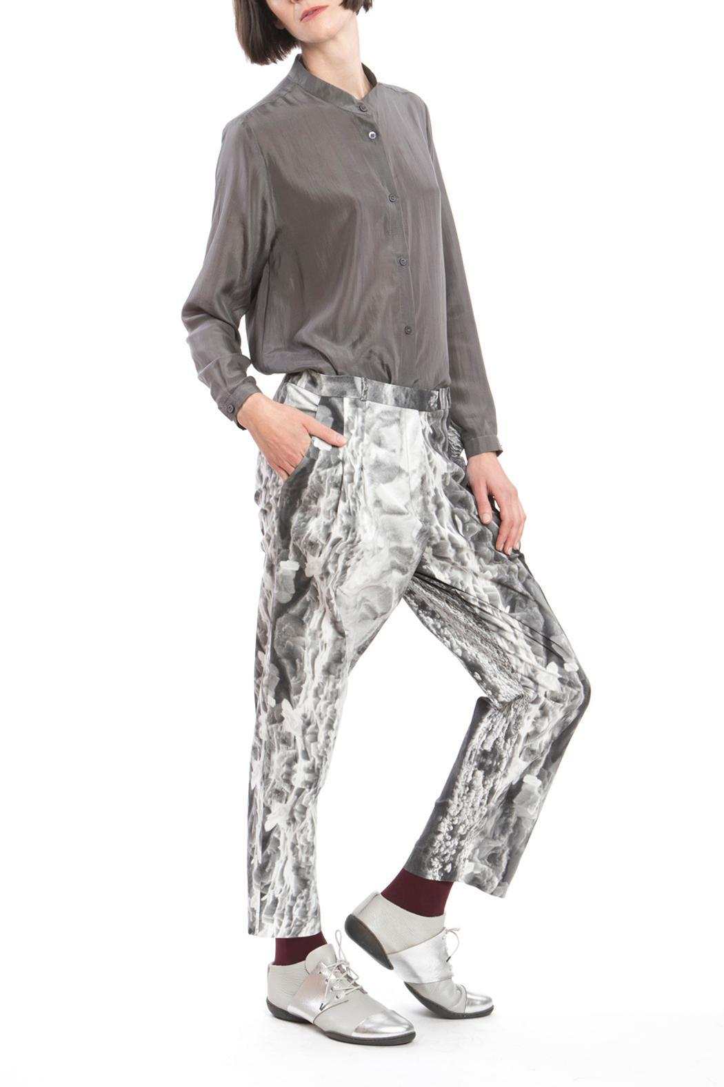 Clara Kaesdorf Trousers Ice Crystal - Side Cropped Image