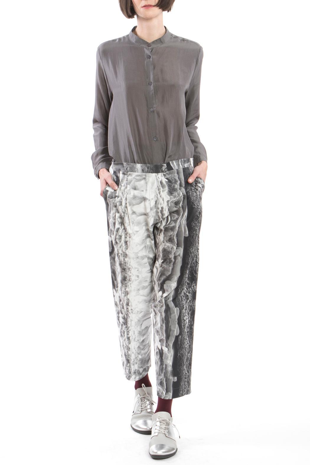 Clara Kaesdorf Trousers Ice Crystal - Back Cropped Image