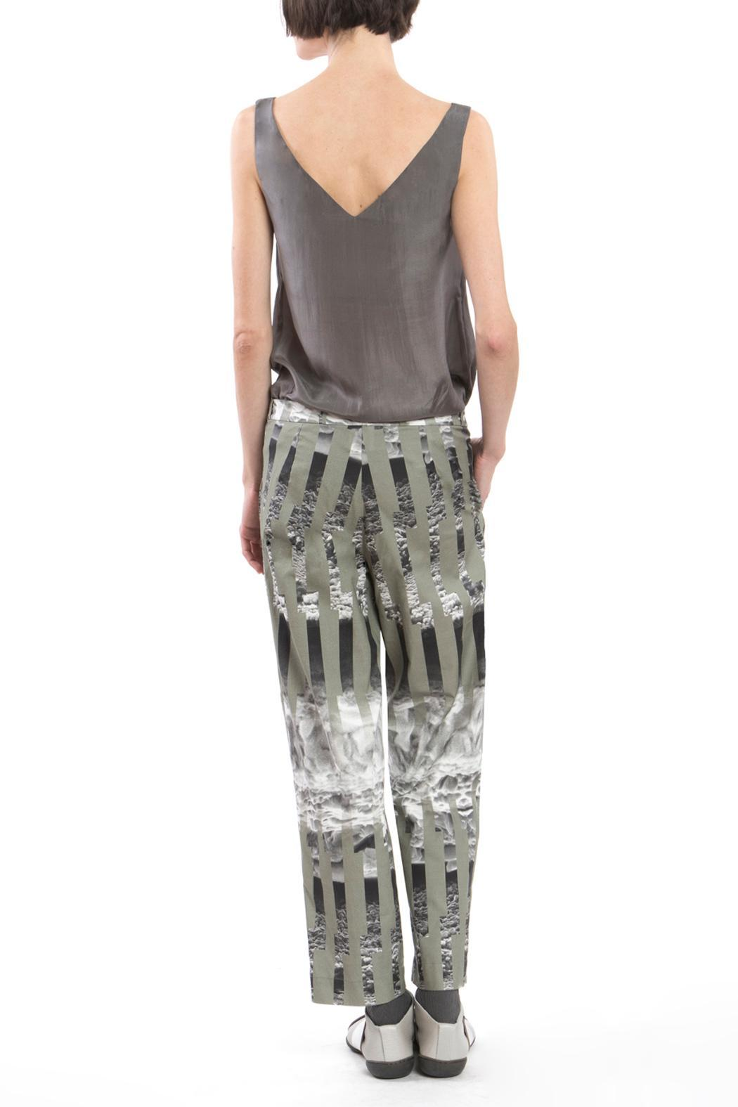 Clara Kaesdorf Trousers Ice Crystal Green - Side Cropped Image
