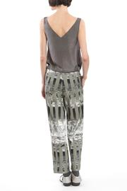 Clara Kaesdorf Trousers Ice Crystal Green - Side cropped