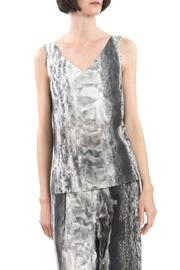 Clara Kaesdorf Ice Crystal Print Top - Product Mini Image