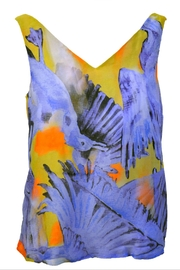 Clara Kaesdorf V-Neck Top Birds - Product Mini Image