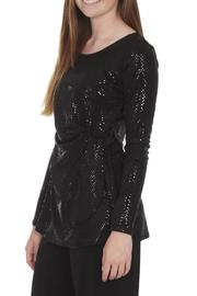 Clara Sunwoo Dressy Sparkly Top - Side cropped