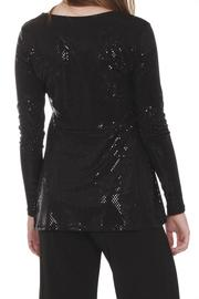Clara Sunwoo Dressy Sparkly Top - Back cropped