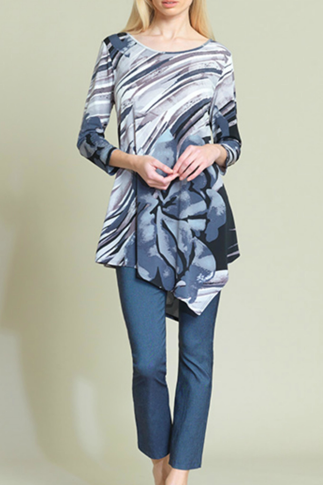 Clara Sunwoo Abstract Floral Tunic - Main Image