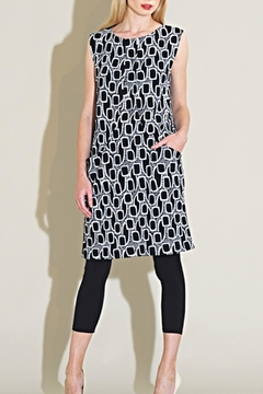 Shoptiques Product: Abstract Sleevless Dress
