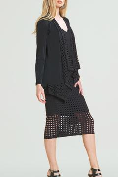 Shoptiques Product: Black Perforated Lapel