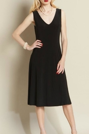 Clara Sunwoo Black V Neck Dress - Product Mini Image