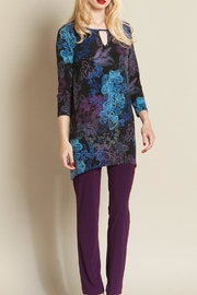 Clara Sunwoo Blackblue Purple Tunic - Product Mini Image