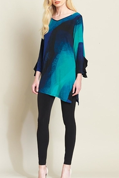 Shoptiques Product: Blue Watercolor Tunic