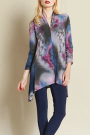 Clara Sunwoo Butterfly Print Tunic Top - Product Mini Image