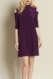 Clara Sunwoo Cold Shoulder Dress - Product Mini Image