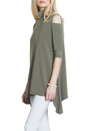 Clara Sunwoo Cold Shoulder Tunic Top - Front cropped