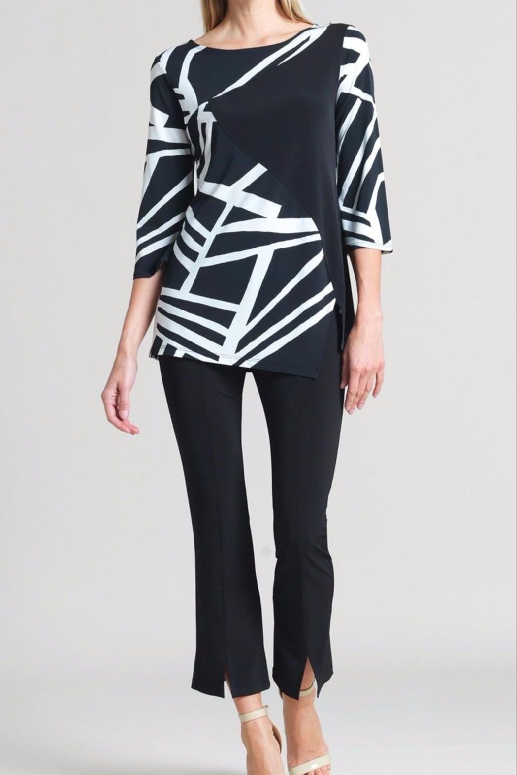 Clara Sunwoo Color-Block Stripe Tunic - Main Image