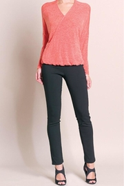 Clara Sunwoo Coral Vneck Sweater - Product Mini Image