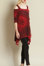 Clara Sunwoo Diamond Print Tunic - Product Mini Image