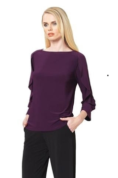 Shoptiques Product: Eggplant Clara Top