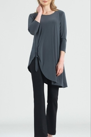 Clara Sunwoo Faux-Pull Tie Tunic - Front cropped
