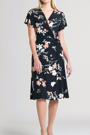 Clara Sunwoo Floral 1/2- Sleeve Swing-Dress - Product Mini Image