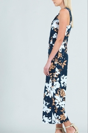 Clara Sunwoo Floral Cross-Front Halter-Jumpsuit - Front full body
