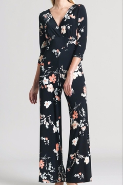 Clara Sunwoo Floral V-Neck Jumpsuit - Alternate List Image