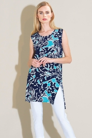 Clara Sunwoo Flowy Printed Top - Product Mini Image