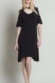 Clara Sunwoo Flutter Sleeve Dress - Product Mini Image