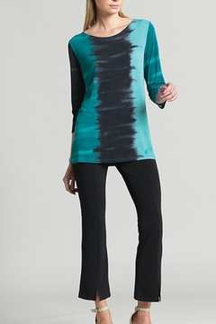 Clara Sunwoo Green Ombre Tunic - Alternate List Image