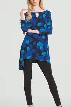 Shoptiques Product: Blue Long Sleeve Tunic