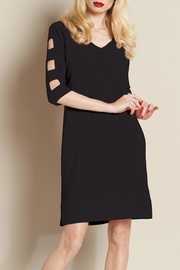 Clara Sunwoo Ladder Sleeve Dress - Product Mini Image