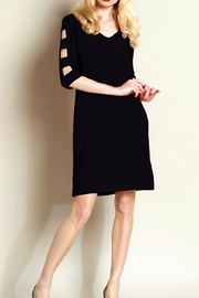 Clara Sunwoo Ladder Sleeve Dress - Front cropped