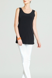 Clara Sunwoo Black Sleeveless Tunic Top - Product Mini Image