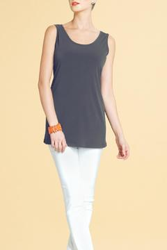Shoptiques Product: Long Stretch Knit Tank