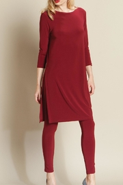 Clara Sunwoo Merlot Long Tunic - Product Mini Image