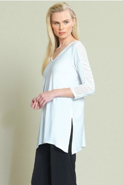 Clara Sunwoo Mesh Sleeve Tunic` - Product Mini Image