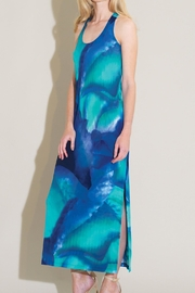 Clara Sunwoo Ocean Printed Dress - Product Mini Image