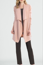 Clara Sunwoo Peach Sweater Cardigan - Product Mini Image